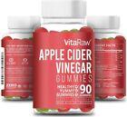 Organic AppleCider Vinegar Gummies - with Mother, Raw, Gluten Free ACV -...