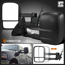 97-03 Ford F150 Extend Telescoping MANUAL Towing Side Mirrors LEFT+RIGHT