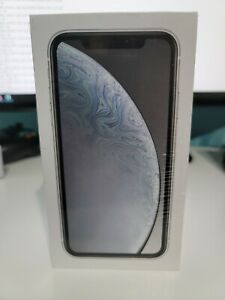 Apple iPhone XR - 64GB - White (AT&T) A1984 (CDMA + GSM) SEALED NEVER OPEN