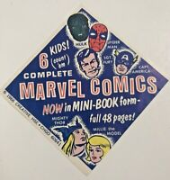 Marvel Comics advertisment Mini-books-vintage 1966-Thor-Millie the model-Hulk-Sp