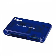 Hama 55348 CardReaderWriter 35in1, USB 2.0 Blau Digital Solutions