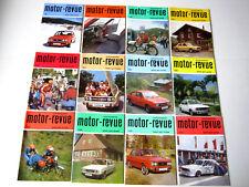 Tschechoslowakische MOTOR REVUE 1982_Heft 1-12_Jawa-Skoda-Tatra-Motocross
