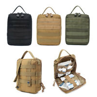 Tactical 1000D MOLLE First Aid Kit Medical Pouch IFAK Survival EMT Utility Bag