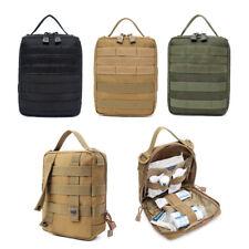 Tactical 1000D MOLLE EMT Medical Bag First Aid Kit IFAK Utility Survival Pouch