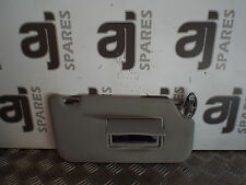 FORD FUSION 3 1.6 PETROL 2005 DRIVERS SIDE FRONT SUN VISOR (SOME MARKS)