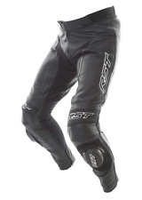RST Blade II 2846 Black Leather Motorcycle Jeans Trousers 34 Waist