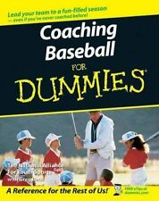Coaching Baseball For Dummies-ExLibrary