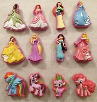 Disney Princess and My Little Pony Sucker Toy Bundle x12