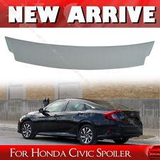 Unpainted For Honda Civic 10th Sedan VStyle Trunk Lip Spoiler Wing New EX