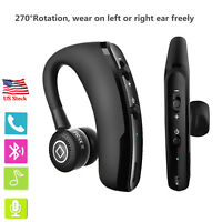 Business Bluetooth Headset Earphone with MIC For ios iPhone 8 7 7 Plus 6S 5S 5G