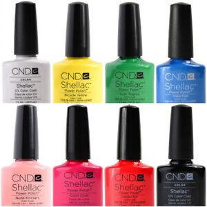 CND Shellac UV/LED Gel Nail Polish 7.3ml - Clearance Stock - 121 Colours