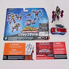 Transformers Prime Beast Hunters Cyberverse Legion Smokescreen vs. Cindersaur