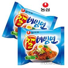 [Nongshim] Chal Bibimmun Sweet Spicy Cold Tasty Korean Food Noodles 130 g × 2 ea