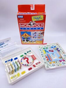1994 Monopoly Junior Travel Game By Parker Brothers