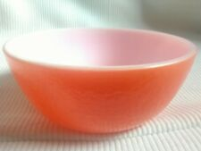 bright orange coloured decorative bowl