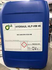 OLIO IDRAULICO HYDRAULIC HLP-HM 46 ISO 3448 DIN 51524 HM 20 LITRI