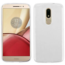 For Motorola Moto M XT1662 Glossy Transparent Clear Skin Case Cover