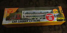 CAR CARRIER EXTREME - CIB - 15 RACE CARS INCLUDED - BOXED -