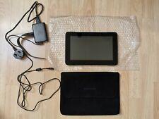 Razer tablet, cargador y Pro Edge Samsung Slip cubierta.