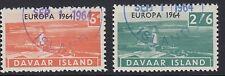 DAVAAR ISLAND (Scotland) :1964 EUROPA set ROSEN D1-2  fine used