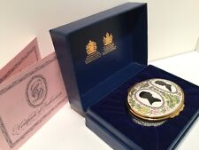 Halcyon Days Prince Charles & Lady Diana Royal Wedding Enamel Trinket Box1981