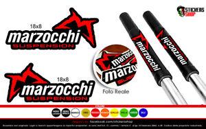 Marzocchi adesivo forcelle, stickers copriforcella marzocchi adesivo logo scritt