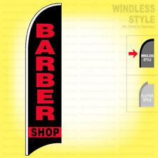 Barber Shop Windless Swooper Flag 25x115 Ft Feather Banner Sign Kb