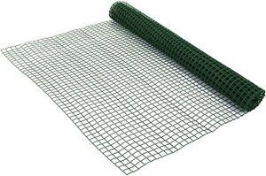 50CM x 5M Plastic Mesh Garden Fencing – Heavy Duty Fruit Vegetable Green Netting