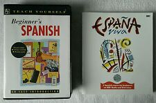 Teach Yourself Beginner's Spanish Pack Coursebook & Cassette + Espana Viva