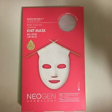 1 PCS NEOGEN PINK CACTUS LIFTMAX KNIT MASK - FACE MASK PACK VITALITY&ELASTICITY