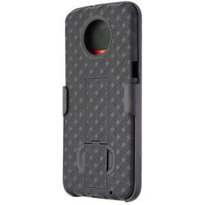 Verizon Hardshell Case and Holster Combo for Motorola Moto Z3 - Black