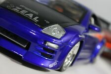 1/18 MITSUBISHI ECLIPSE Import Racer! Model Jada Toys Modified Custom Wheels