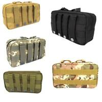 Utility Pouch First Aid Backpack Rock Climbing Tactical Molle Hiking Equipment