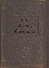 SAVAY CHRONICLES BY VARIOUS AUTHORS SIGNED COPY