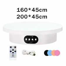 Electric Rotating Display Stand Turntable Revolving For Product Video Show