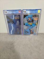 Batman The Dark Knight Returns #1(2nd Print) and #2(1st Print) CGC 9.6  RARE