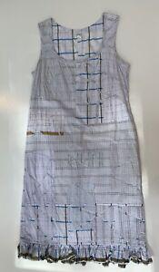 Dosa Patchwork Cotton Dress 3