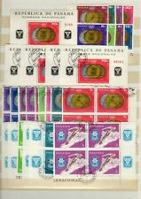 PANAMA Athletic Sports  Olympic Stamps Grenoble 1968 -ATZ