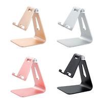 Aluminum Adjustable Desktop Stand Holder Mount Cradle For Cell Phone Tablet 884