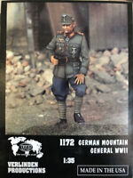 1:35 WWII GERMAN MOUNTAIN GENERAL High Quality Resin Kit 1 Figures