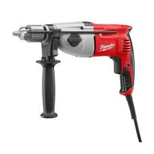 Milwaukee 5378-21 1/2 In. Dual Torque Electric Hammer Drill 7.5 Amp w/ Case New