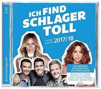 ICH FIND SCHLAGER TOLL-HERBST/WINTER 2017/18  2 CD NEU