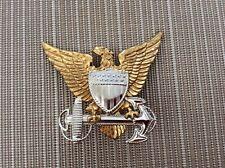 New listing Wwii? Vintage Us Coast Guard Badge Insi 00006000 gnia Cap Device Pin