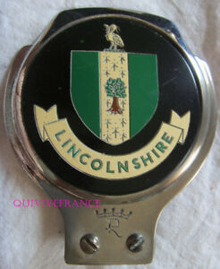 BADGE DE CALANDRE - CAR BADGE LINCOLNSHIRE