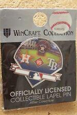 2013 Houston Astros vs Tampa Bay Rays pin Inaugural American League Season
