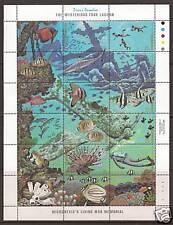 MICRONESIA  # 71  MYSTERIOUS TRUK LAGOON, A LIVING WAR MEMORIAL. Miniature Sheet