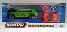 TEAMSTERZ STREET RACERS DIE-CAST MODEL - GREEN WITH RED FLASH