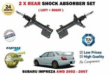 FOR SUBARU IMPREZA 1.6 2.0 WRX TURBO 2002-> 2X REAR LEFT + RIGHT SHOCK ABSORBER