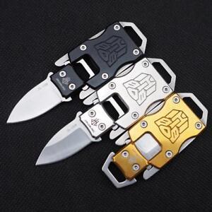 Mini Folding Pocket Knife Keyring Knives Keychain Tactical Edc Tool Survival New