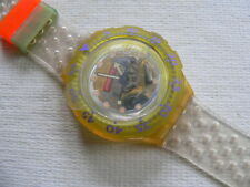 1992 Scuba 200 Swatch Watch Jelly Bubbles SDK104 Variation ring